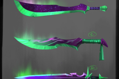 Northern Lights Blade Thumbs